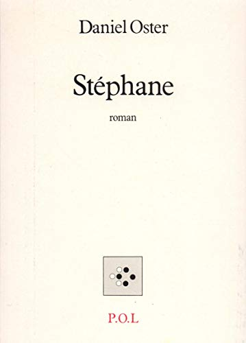 9782867442056: Stephane: Roman (French Edition)