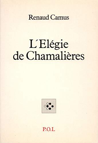9782867442148: L'Élégie de Chamalières