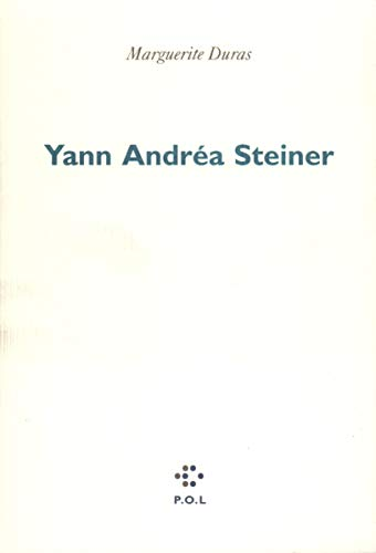 9782867442445: Yann Andrea Steiner (French Edition)