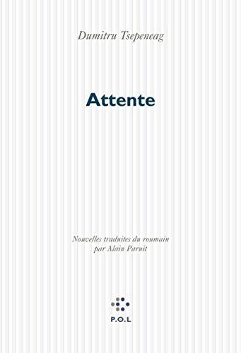Attente (French Edition): Dumitru Tsepeneag
