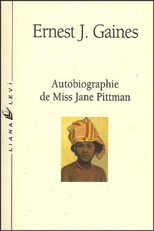 9782867461231: Autobiographie de Miss Jane Pittman