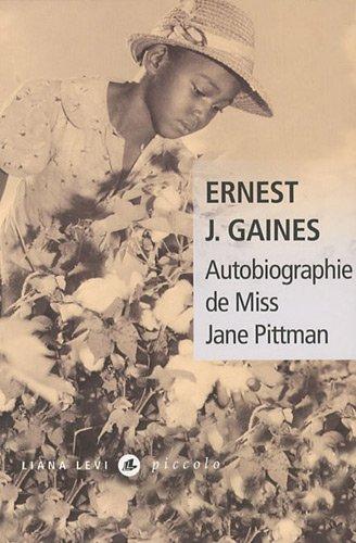 9782867465352: Autobiographie de Miss Jane Pittman