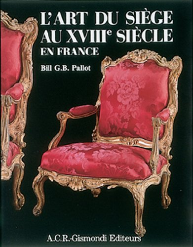 9782867700231: L'art du siege au XVIIIe siecle en France (French Edition)