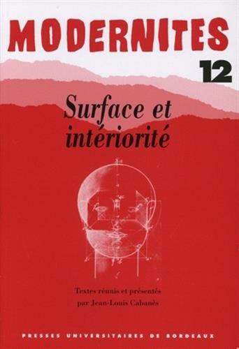 9782867812286: Surface et int�riorit�
