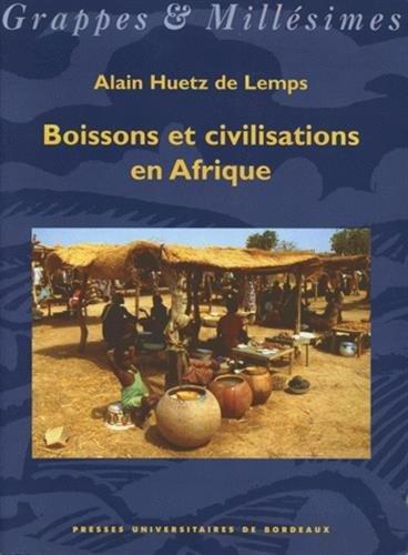 9782867812828: boissons et civilisations en afrique