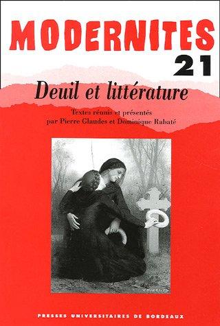 9782867813498: Deuil et littérature