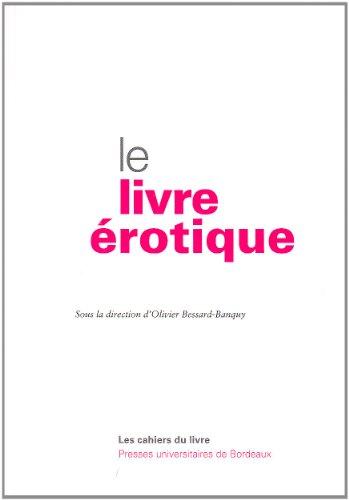 Le livre erotique: Pauvert Jean Jacques