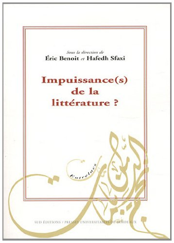9782867817120: Impuissance(s) de la litt�rature ?