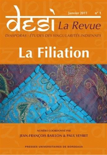 Desi La Revue No 1 La filiation: Baillon Jean Francois