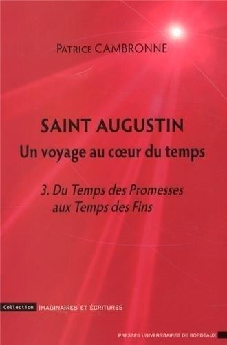 Saint Augustin Un voyage au coeur du temps Vol 3 Du temps des: Cambronne Patrice