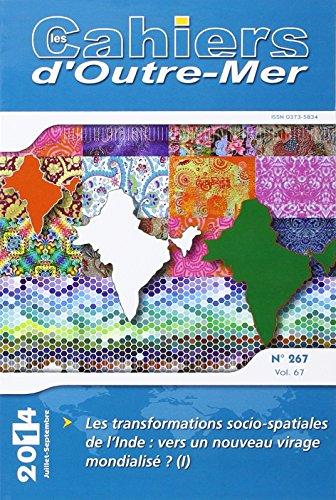 9782867819674: Transformations socio-spatiales de l'inde vers un nouveau virage mondialisé