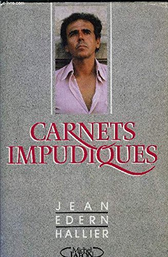 9782868044785: Carnets impudiques : journal intime, 1986-1987