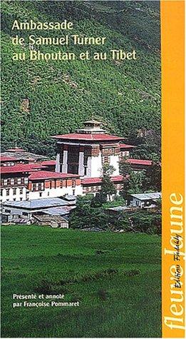 9782868051066: Ambassade de Samuel Turner au Bouthan et au Tibet
