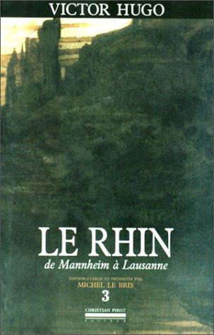 9782868080974: Le Rhin, tome 3