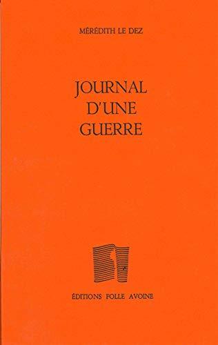 9782868102126: Journal d'une guerre