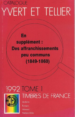 tous les supplements sortis en 1992: Yvert Tellier