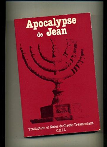 9782868390301: Apocalypse de Jean