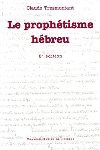 9782868394811: Le prophétisme hébreu