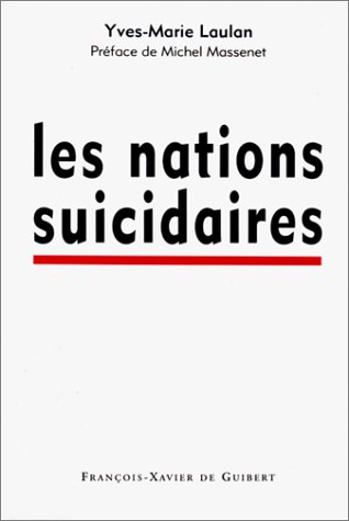 9782868395030: Les nations suicidaires (French Edition)