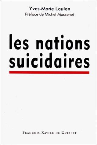 9782868395030: LES NATIONS SUICIDAIRES