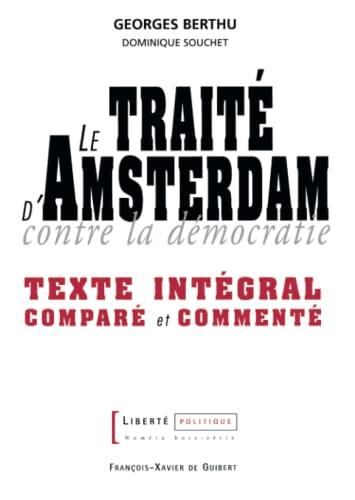 Le Traité d'Amsterdam: Berthu, G.