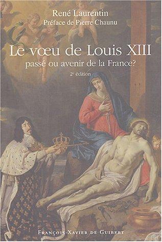9782868399335: Voeu de Louis XIII