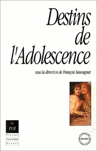 9782868470522: Destins de l'Adolescence