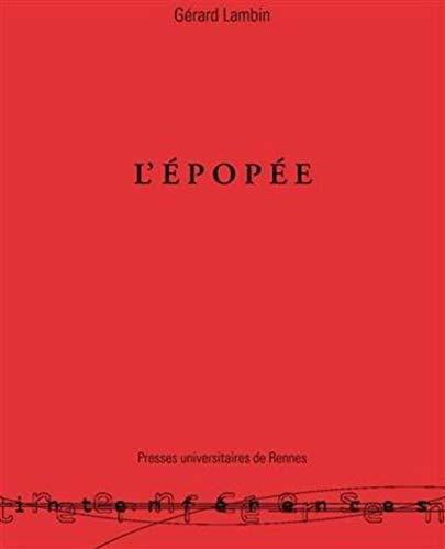 9782868474001: EPOPEE GENESE D UN GENRE LITTERAIRE EN GRECE (INTERFERENCES)