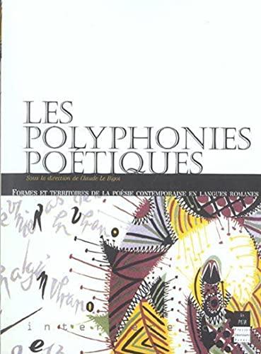 Les polyphonies poétiques : formes et territoires de la poésie contemporaine en ...