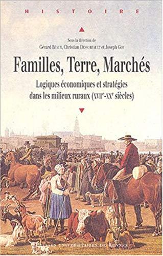 FAMILLES TERRE MARCHES: BEAUR,GERARD