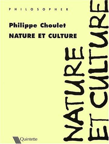 9782868500342: Nature et culture