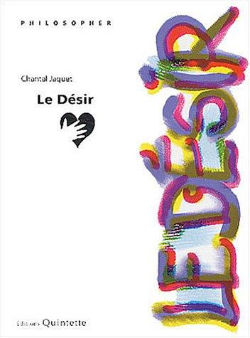 9782868501233: Le Désir