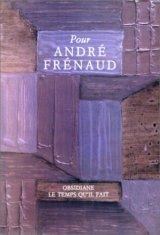 André Frènaud: Collectif