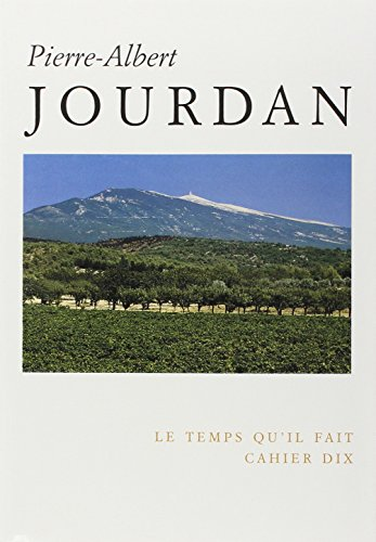 9782868532480: Pierre-Albert Jourdan (Cahier) (French Edition)