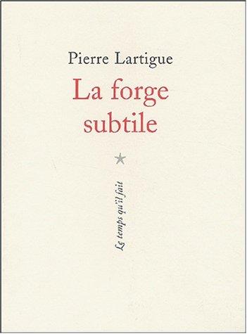 9782868533265: La forge subtile (French Edition)