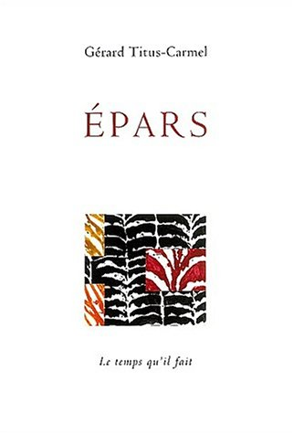 Epars (French Edition)