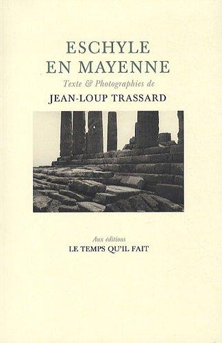 9782868535351: Eschylle en Mayenne