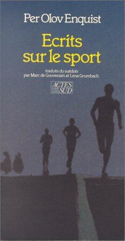 9782868692399: Ecrits sur le sport