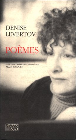 Poèmes (286869389X) by Denise Levertov