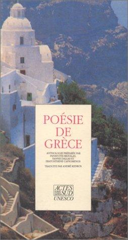 9782868694881: Poésie de Grèce, 1945-1985