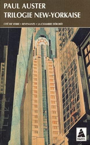 9782868696946: Trilogie new-yorkaise : Cité de verre - Revenants - La Chambre dérobée