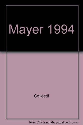 MAYER 1994. Le Livre international des ventes: MAYER.