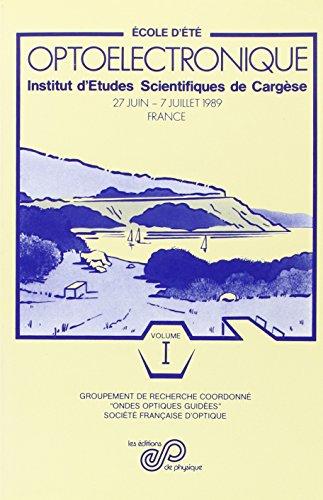 Optoelectronique vol I. instit.d etude scientif.de cargese (French Edition): F. Devos