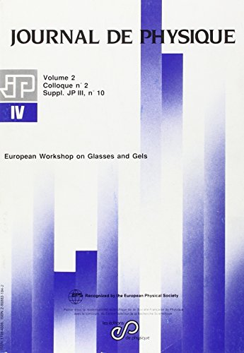European Workshop on Glasses and Gels (French Edition): Ribes/Pradel
