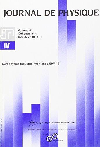 eiw 12 europhysics industrial workshop
