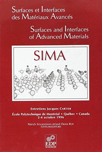 Surfaces et interfaces des matériaux avancés (French Edition): Patrick ...
