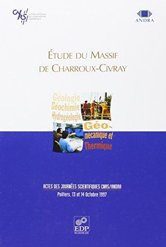 Etude du massif de charroux-civray (French Edition): Collectif