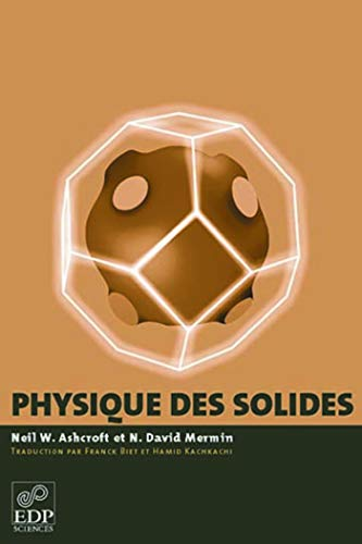 La physique des solides: Mermin Aschcroft