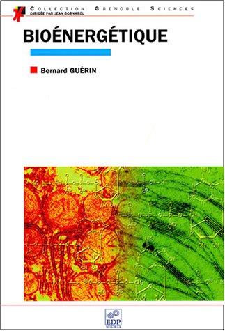 bioenergetique: Bernard Guérin