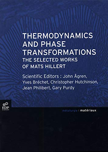 9782868838896: Thermodynamics and Phase Transformations